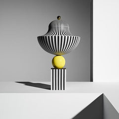 Wedgwood by Lee Broom Vase On Yellow Sphere