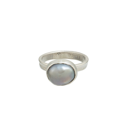 Pearl Ring #9