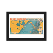 Load image into Gallery viewer, Blue Spruce Route Framed Matte Poster
