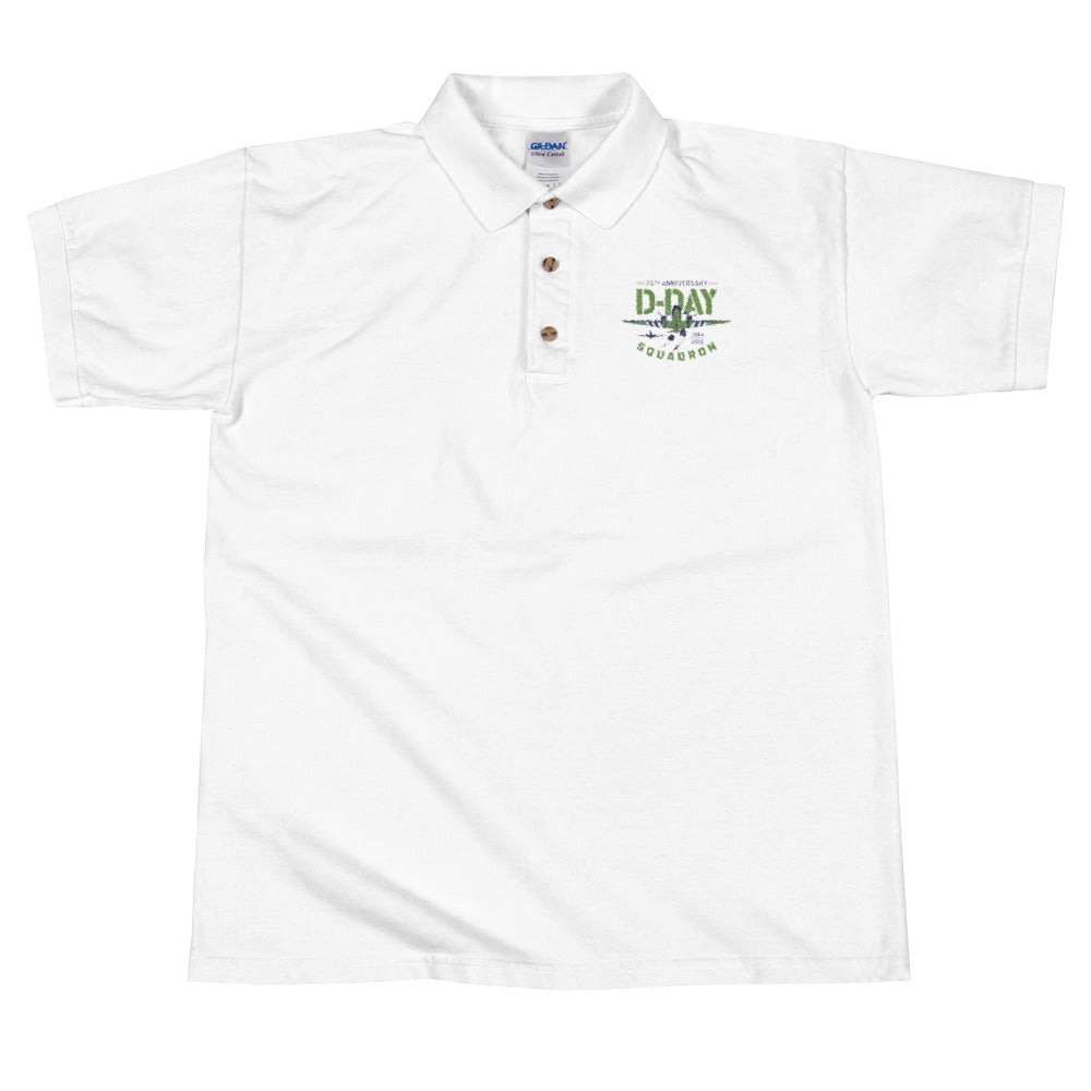 D-Day Squadron Embroidered Polo Shirt
