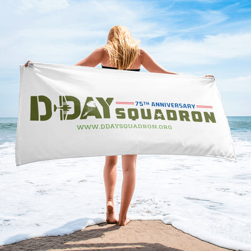 D-Day Squadron Beach Towel