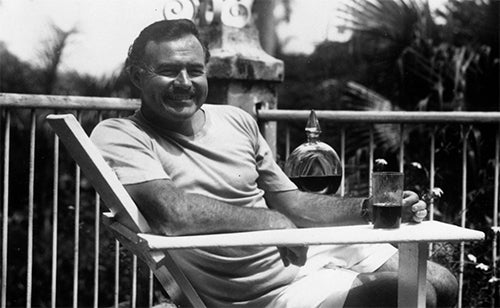 LEISURE LETTER #14: HEMINGWAY'S HAMBURGER RECIPE