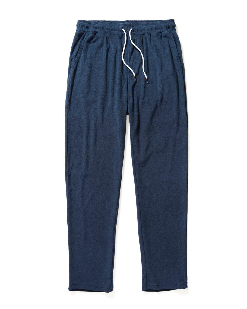 Pants - The Gaucho Terry Cloth Pants - Vintage Navy