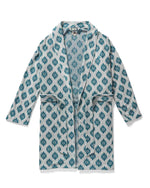 Robes - The Tropez Terry Cloth Robe - Gardenia