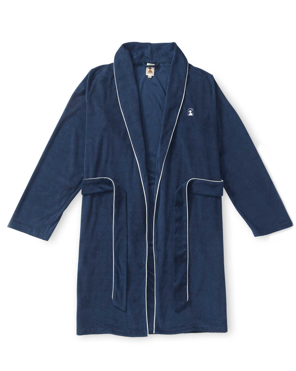 Robes - The Tropez Terry Cloth Robe - Vintage Navy