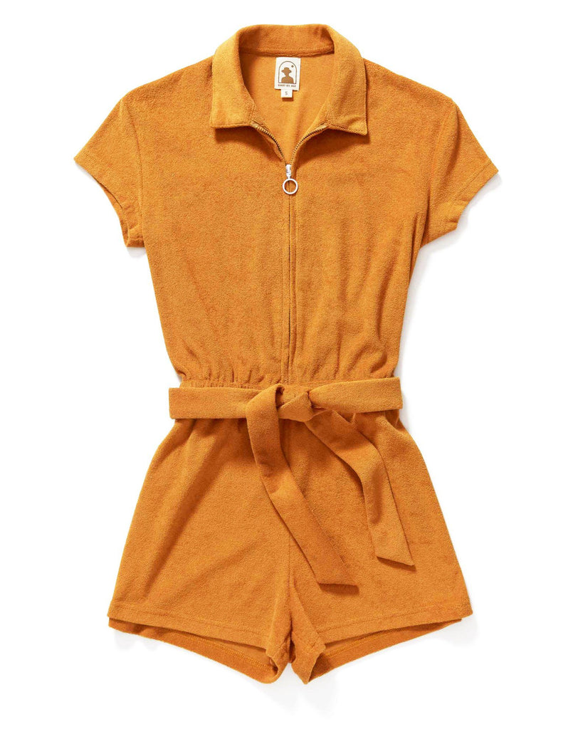 Rompers - The Tropez Romper - Burnt Sienna