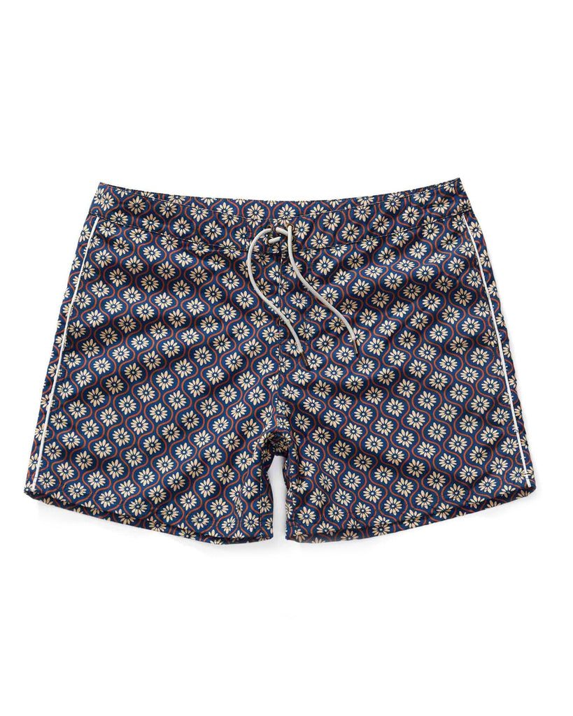 Swimwear - The Riviera Trunks - Gardenia