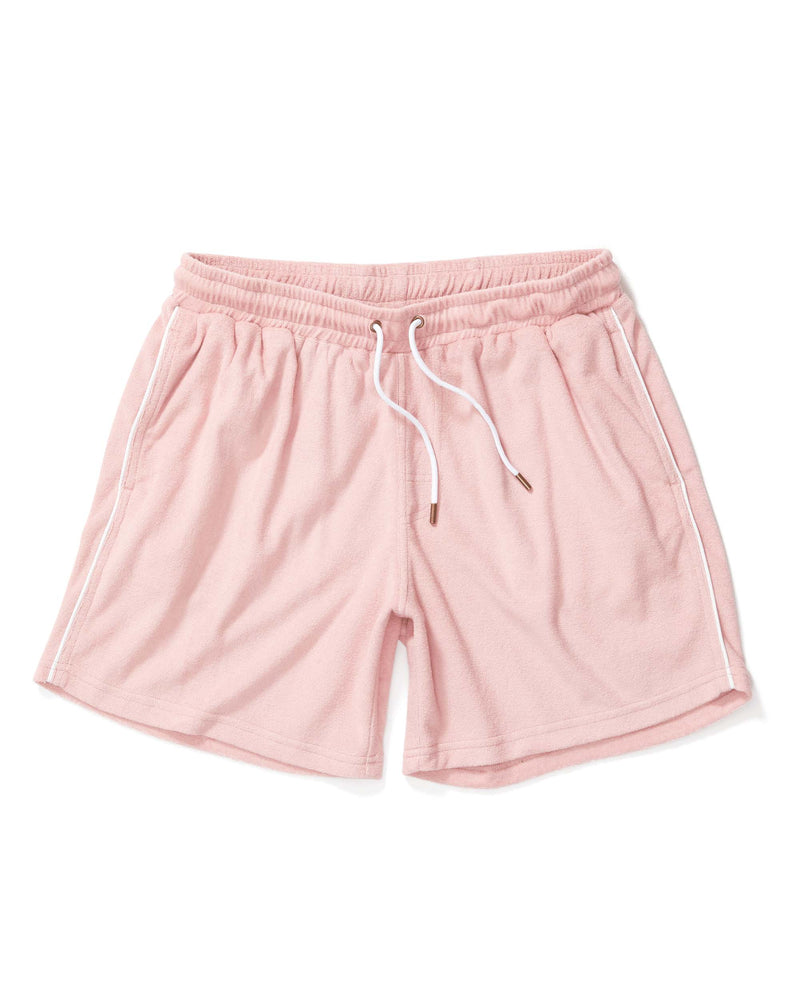 The Gaucho Terry Cloth Shorts - Mauve