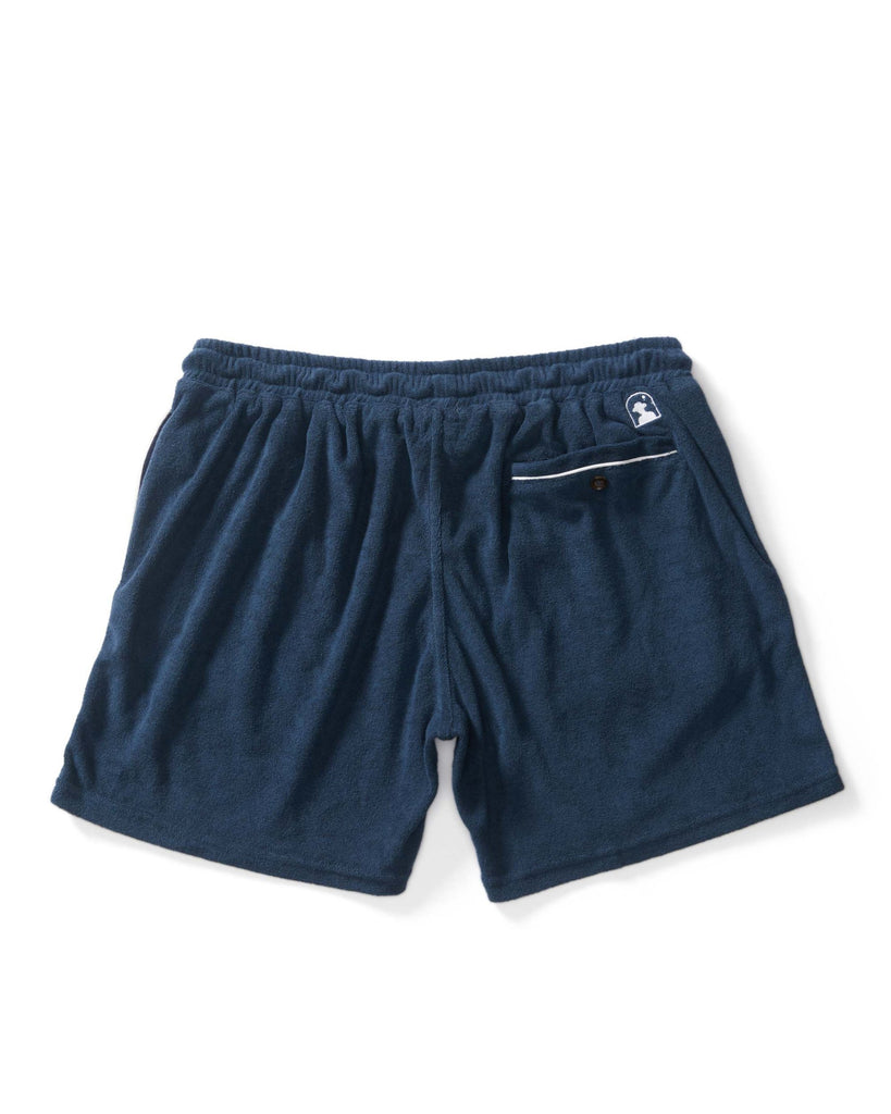 The Gaucho Terry Cloth Shorts - Vintage Navy