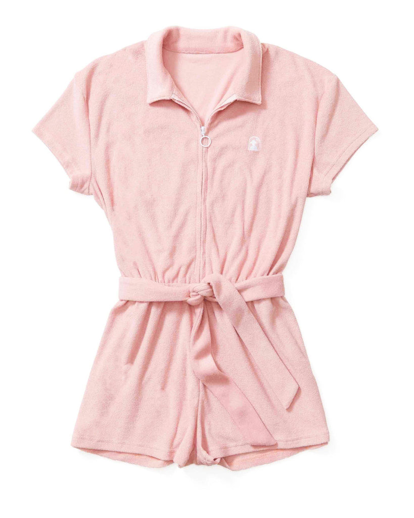 The Tropez Romper - Coral