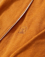 The Tropez Terry Cloth Robe - Burnt Sienna