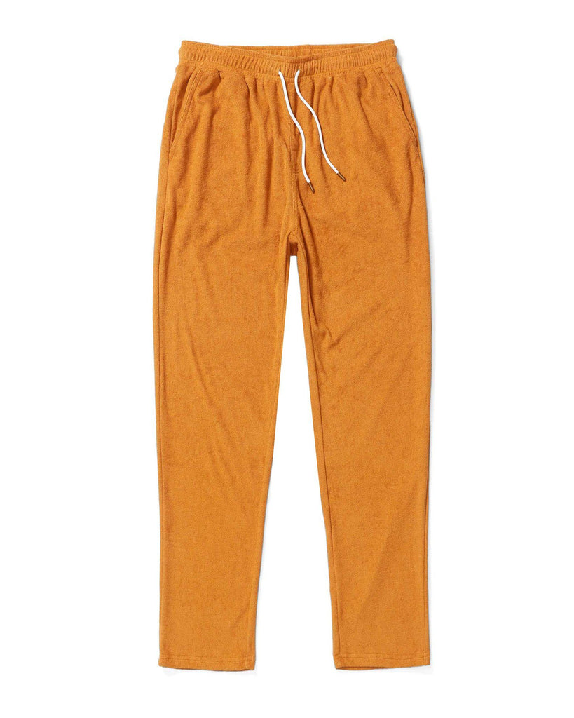 Tropez Pants - The Tropez Terry Cloth Pants - Burnt Sienna