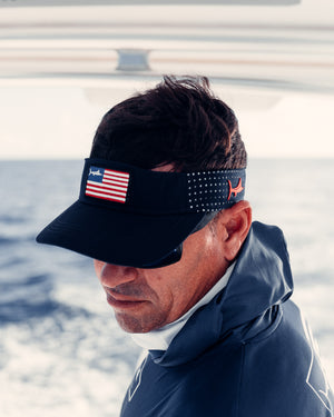 USA Flag Visor