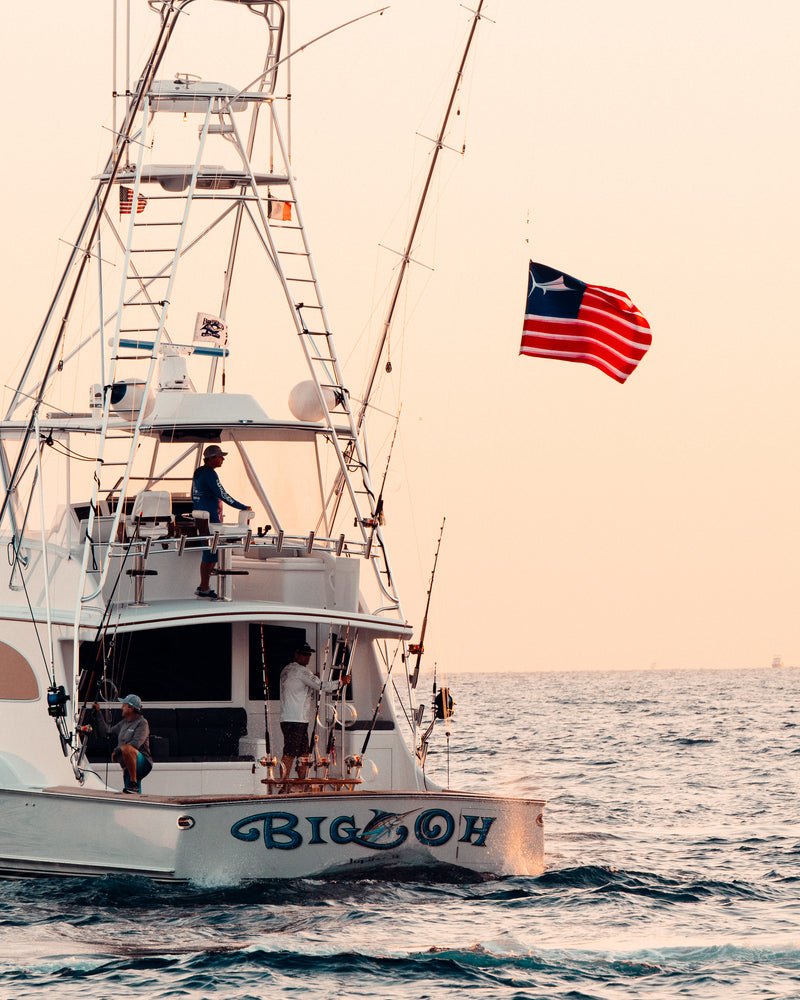 6 X 4 USA Billfish Flag