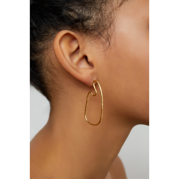 GEOMETRIC HAMMERED HOOPS
