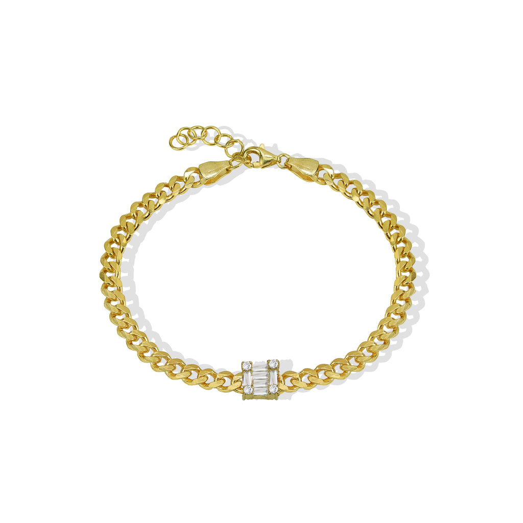 THE CURB CHAIN PAOLA BRACELET