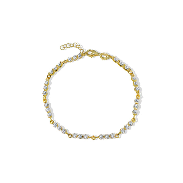 THE TRIPLE CZ BRACELET