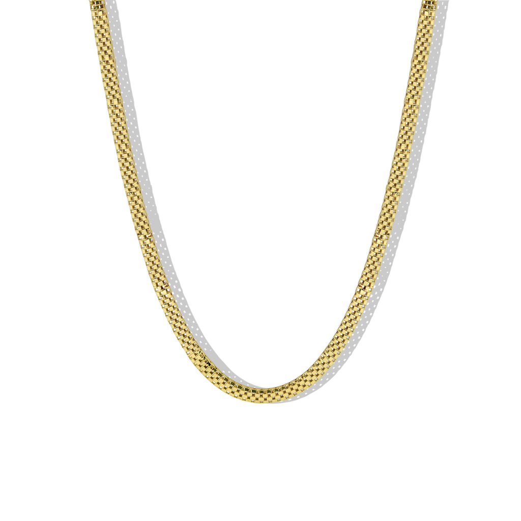 THE MESH CHAIN NECKLACE