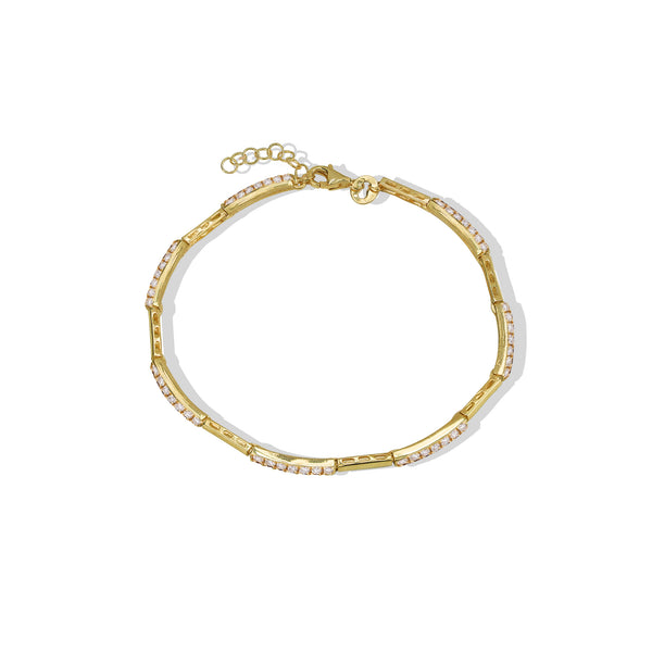 THE TAREN BRACELET WITH CZ