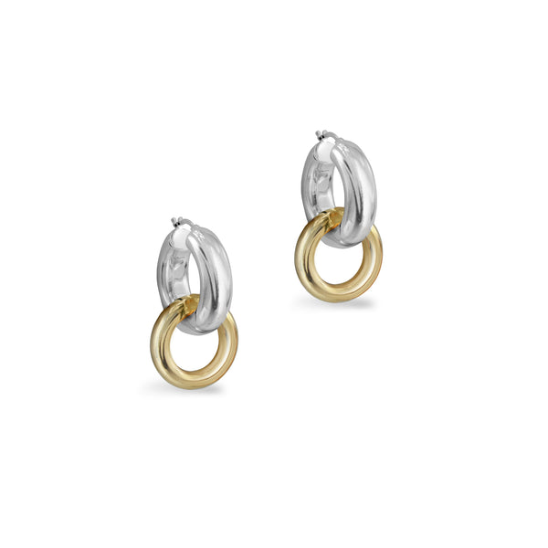 THE PENELOPE DOUBLE LINK EARRING
