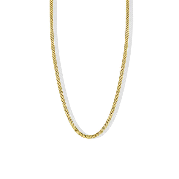 THE WIDE MESH CHAIN NECKLACE