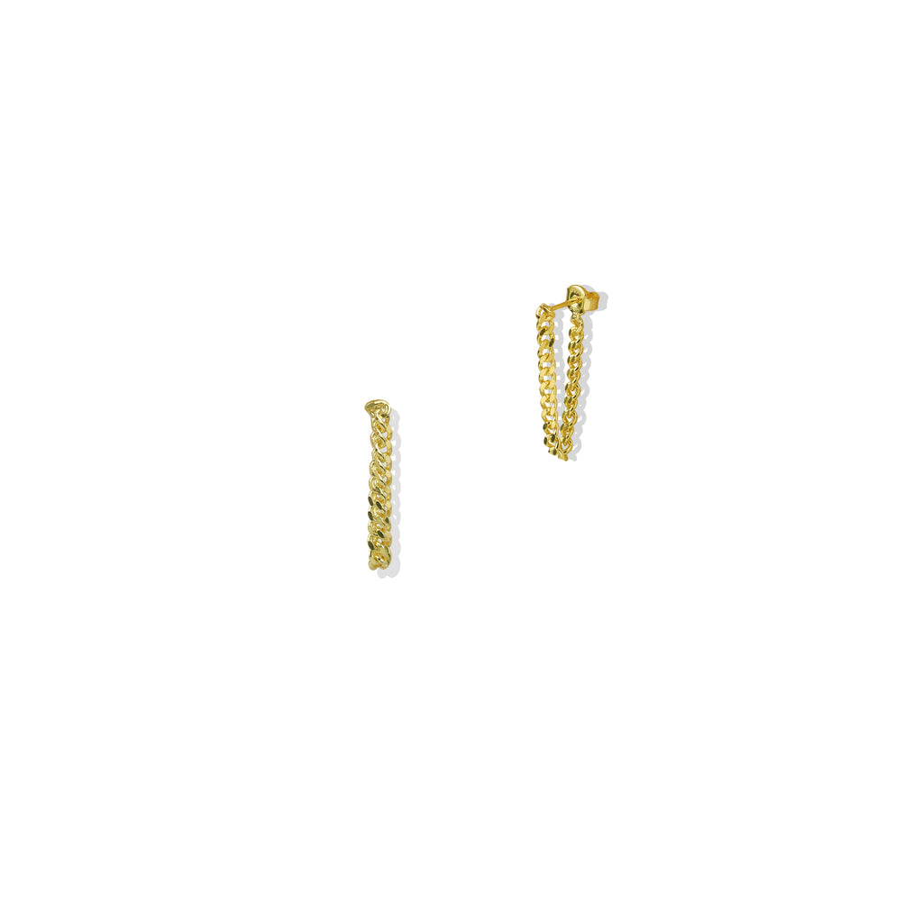 THE LOOP CHAIN EARRING