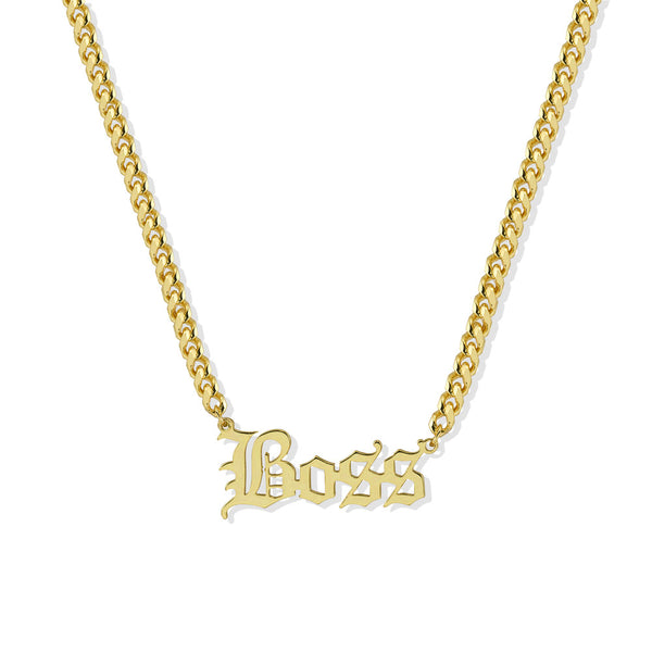 GOTHIC BOSS NECKLACE