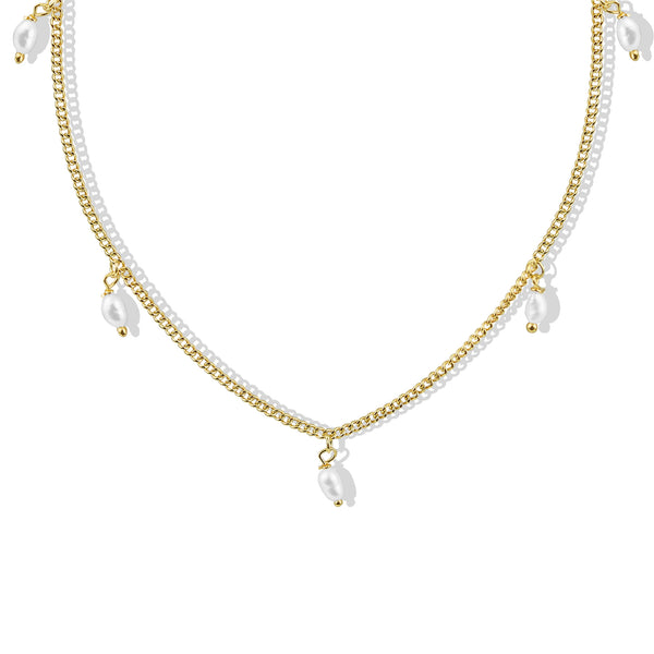 THE EVIE PEARL NECKLACE