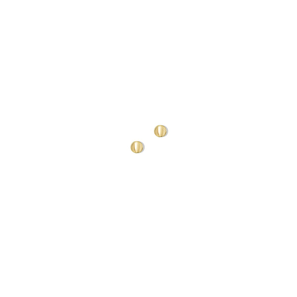 THE 14K GOLD CIRCLE STUD