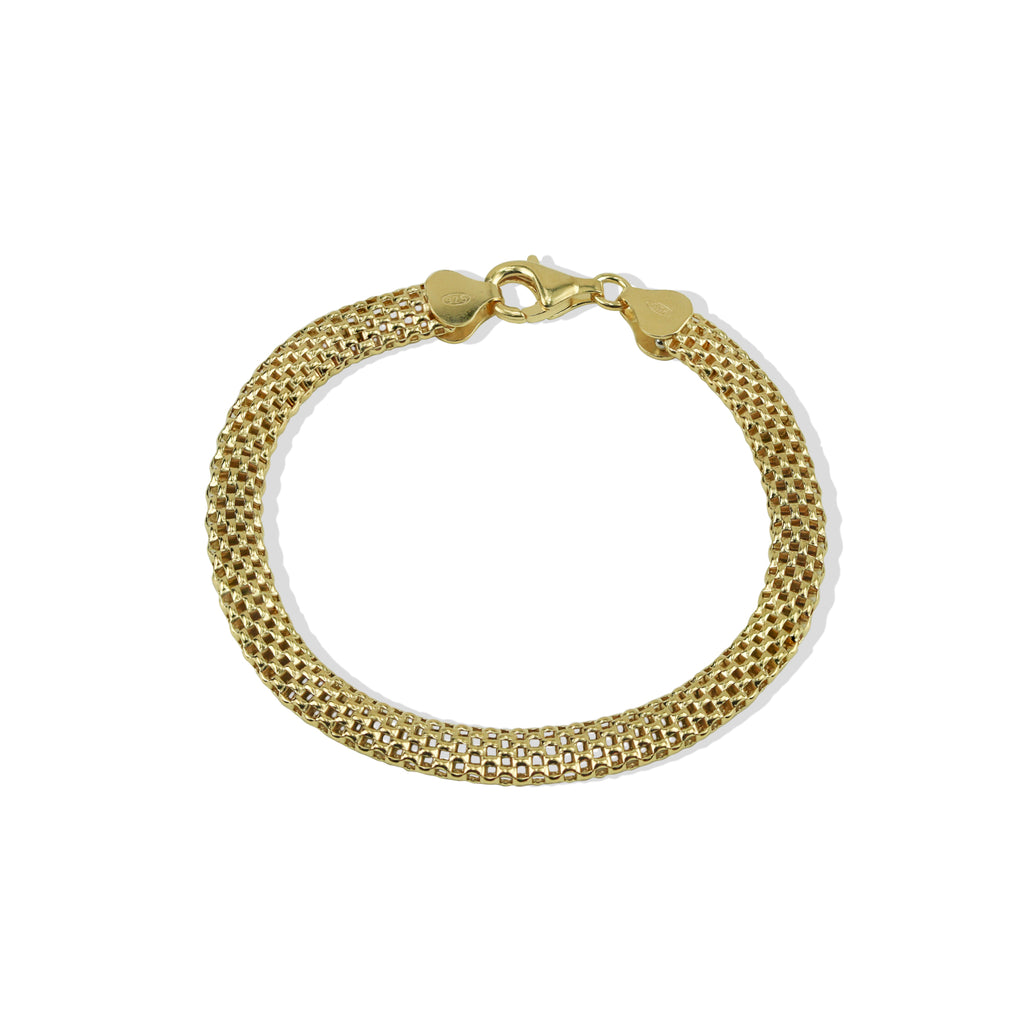 THE WIDE MESH CHAIN BRACELET