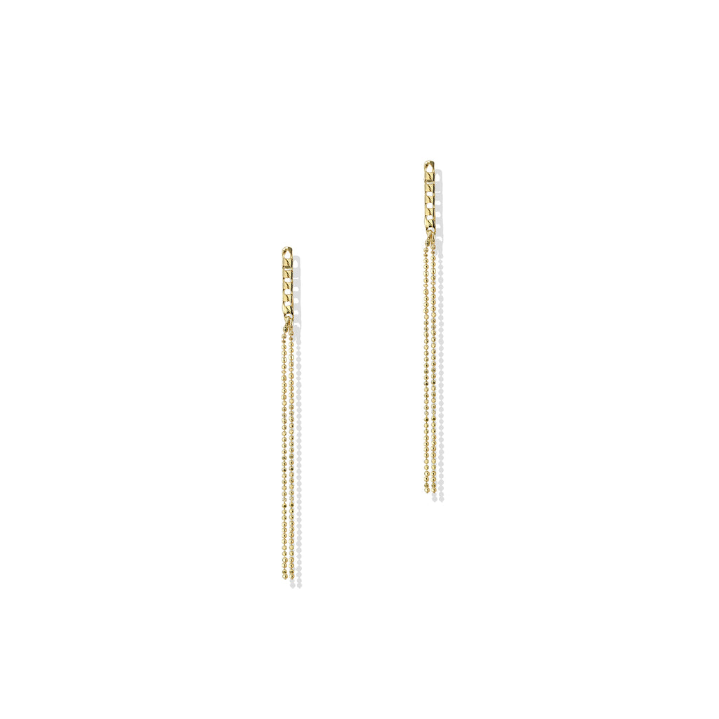 THE MINI CHAIN DROP EARRING