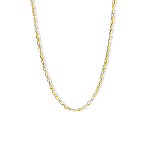 THE MINI RECTANGLE LINK NECKLACE