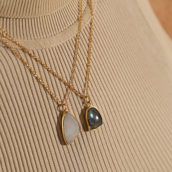 THE CLAIR DE LUNE NECKLACE