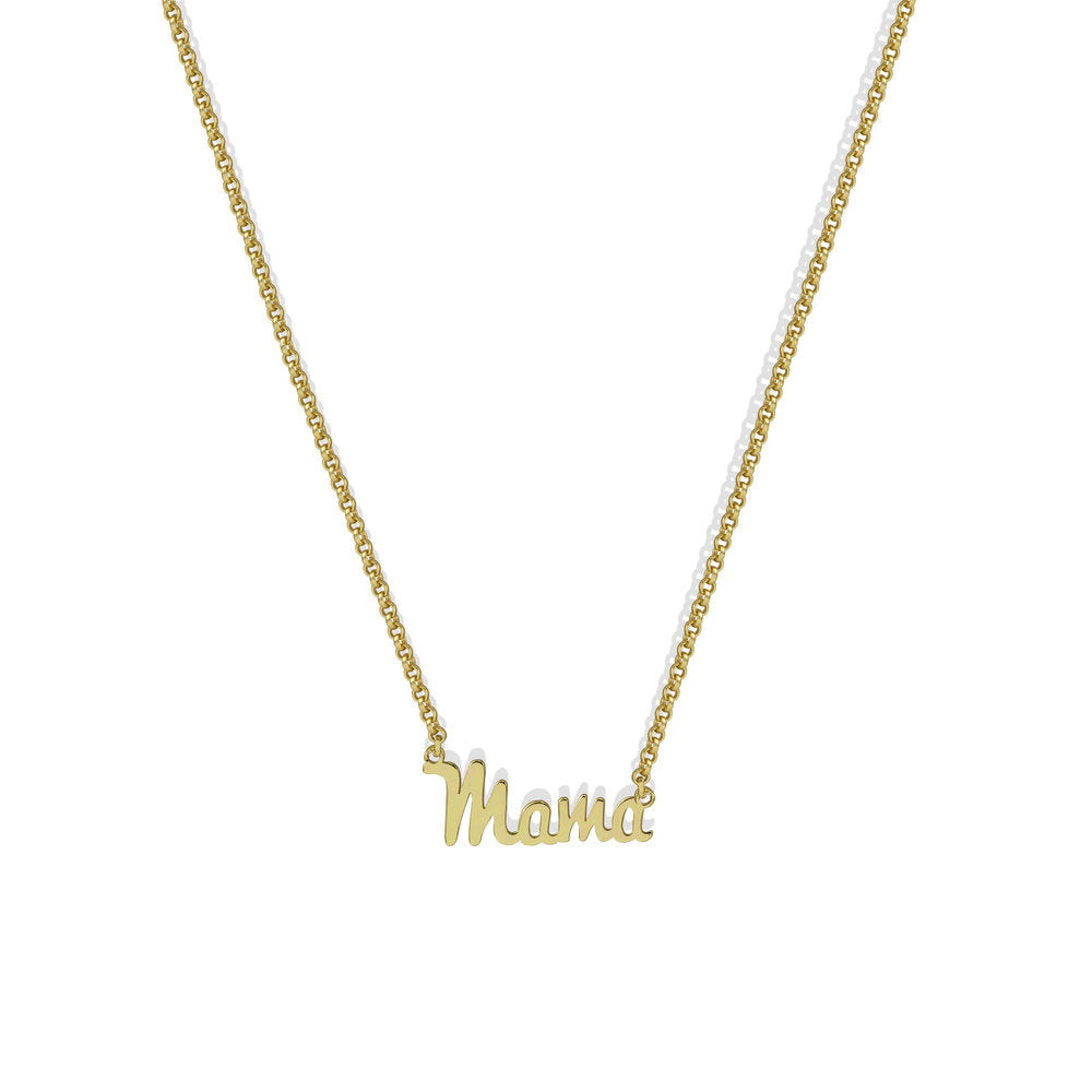 SCRIPT MAMA NECKLACE