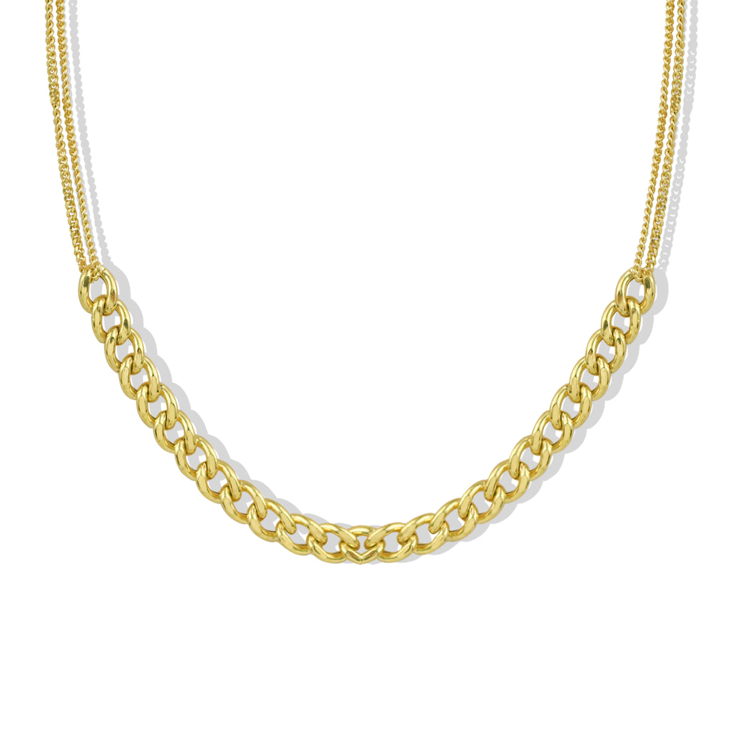 THE MIXED CHAIN NECKLACE