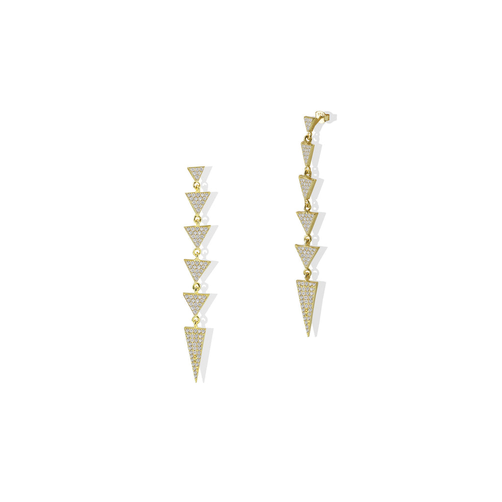 THE ARROW DROP EARRING