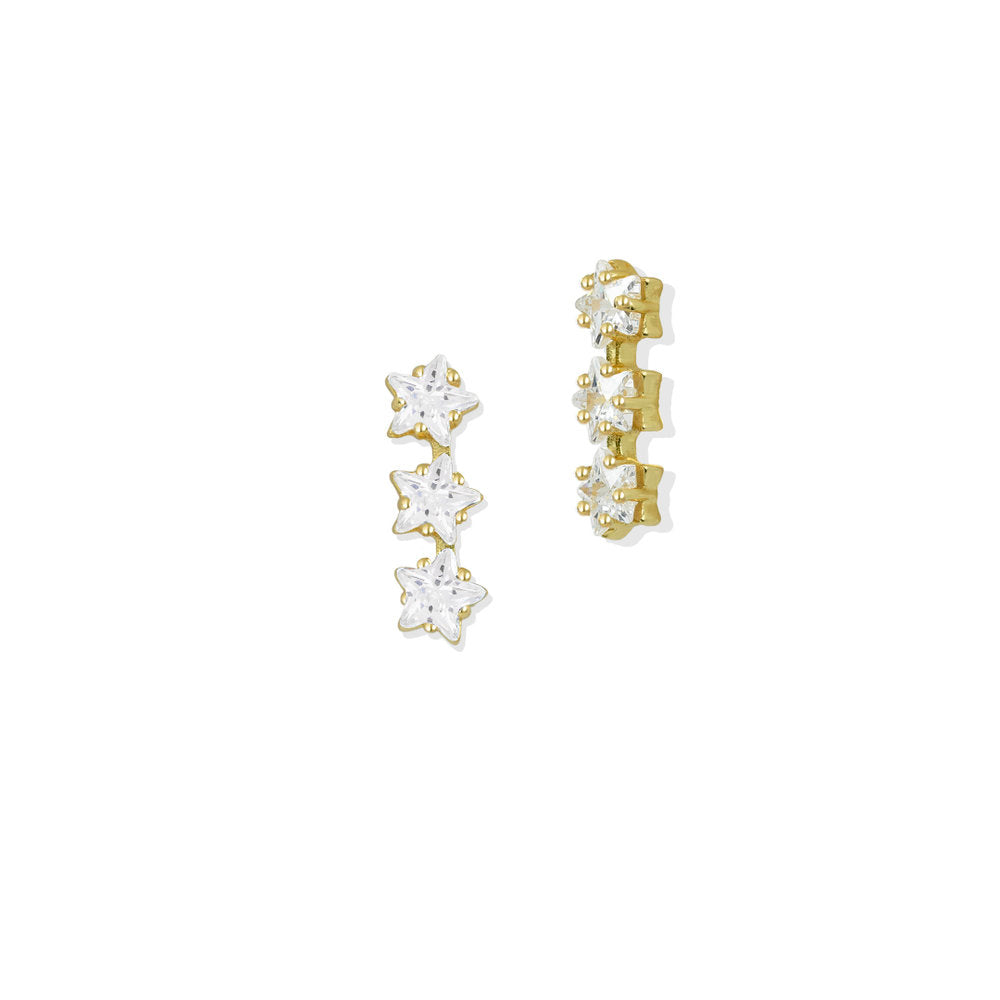 MINI STAR STUD EARRINGS