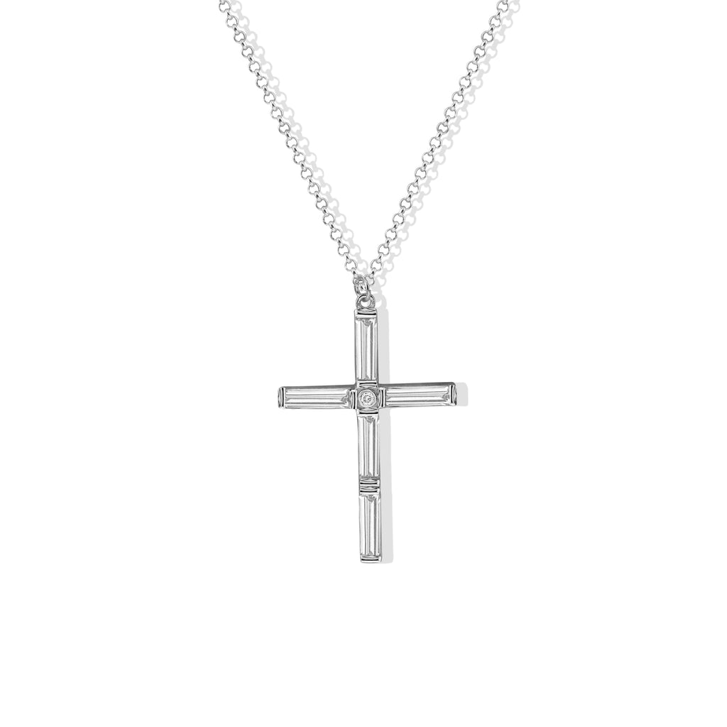 THE CELIA CROSS NECKLACE