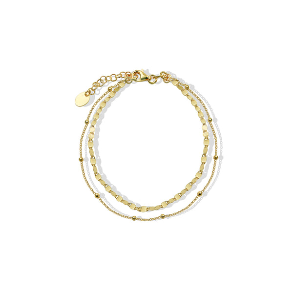 THE LAYERED ANKLET