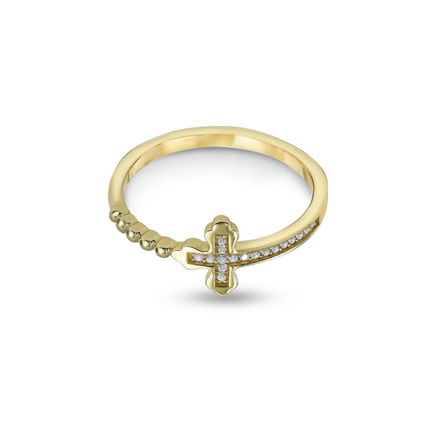 SIDE CROSS RING