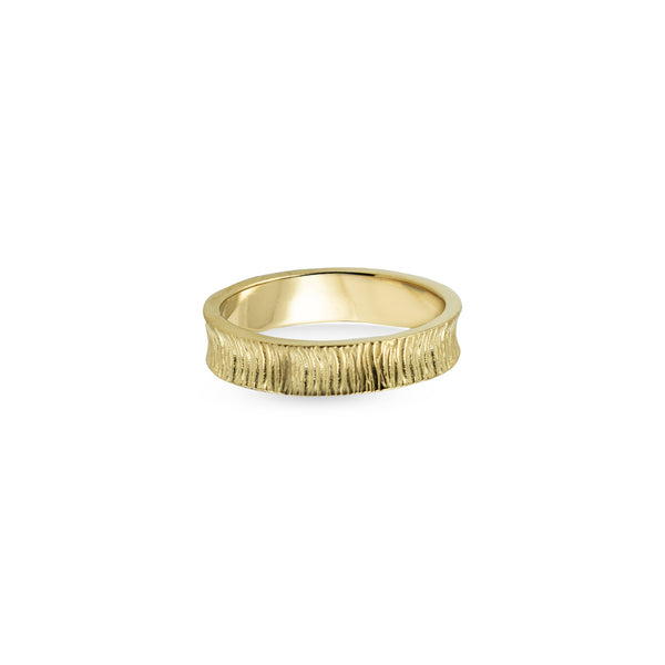 THE TEXTURED BAND RING