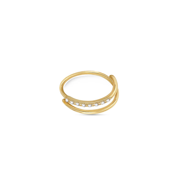 THE NESE DOUBLE BAND RING