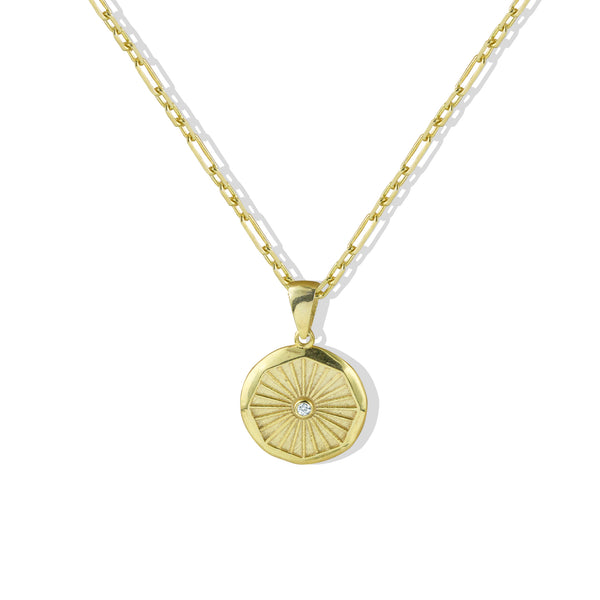 THE OCTAGON PENDANT NECKLACE