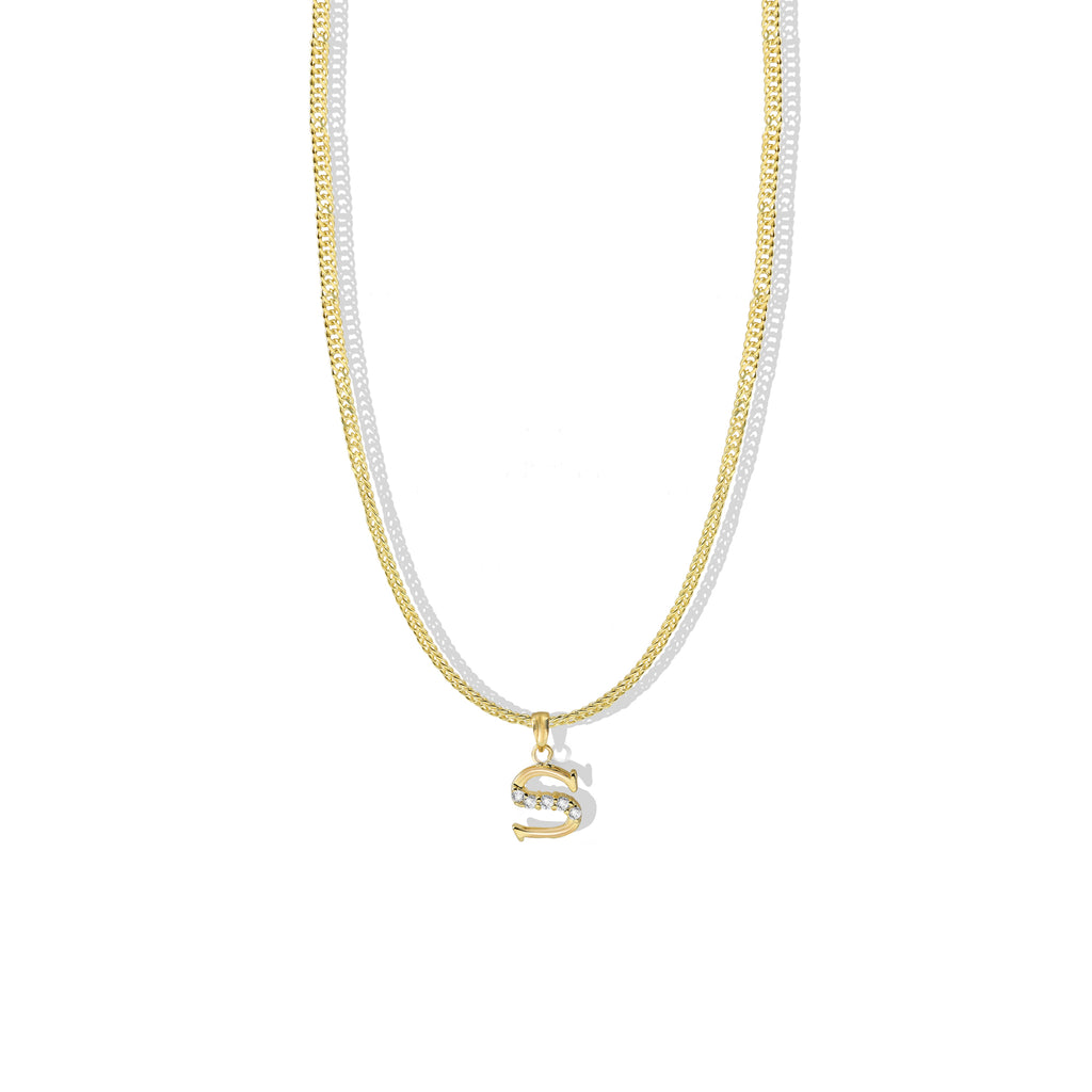THE CLASSIC INITIAL PENDANT NECKLACE