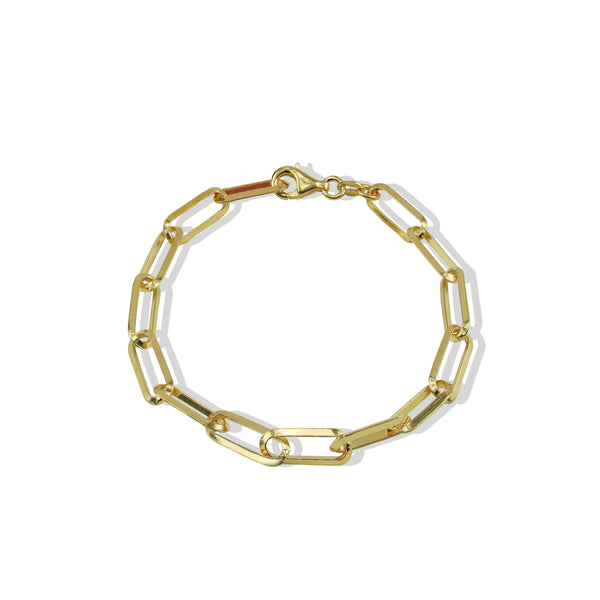THE EVA WIDE LINK BRACELET