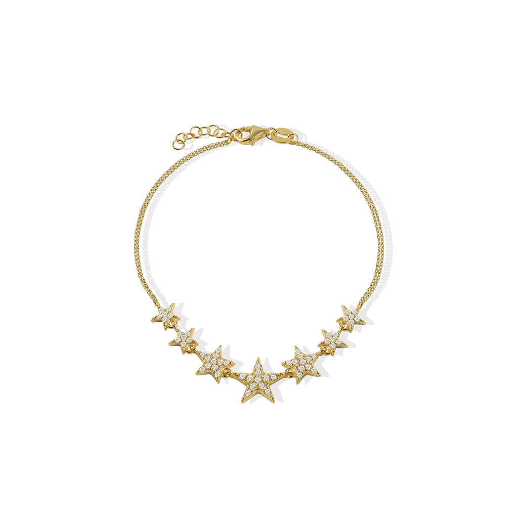 THE CZ STAR BRACELET