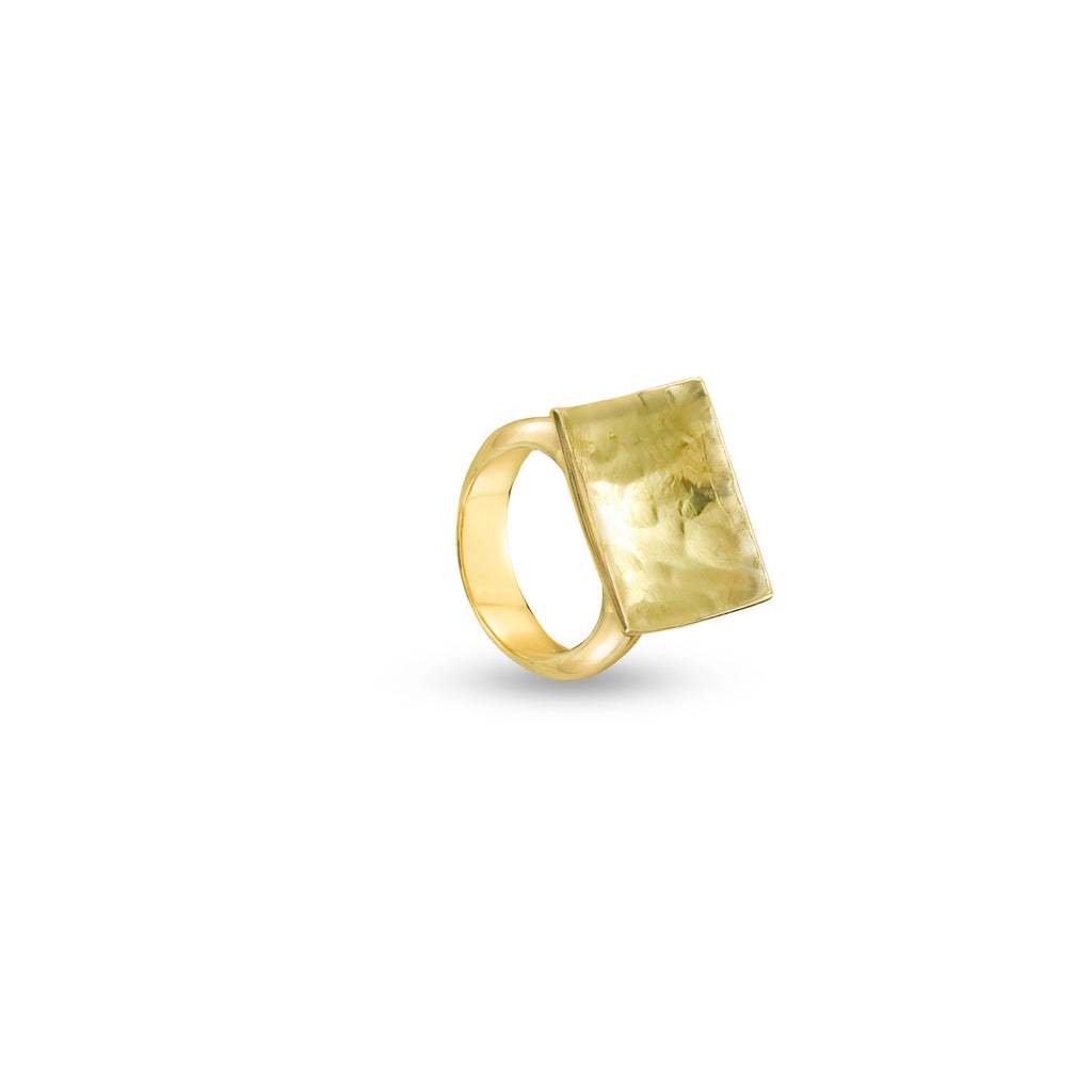 THE HAMMERED SQUARE RING