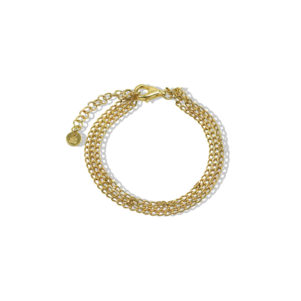 THE TRIPLE LAYERED BRACELET