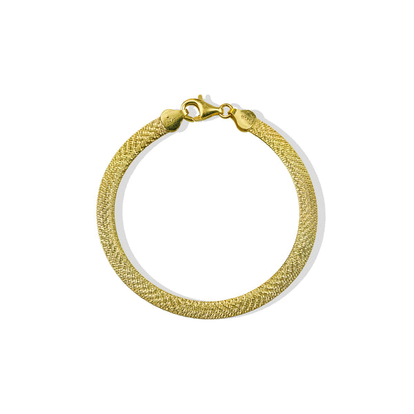 THE CASSANDRA FLAT CHAIN BRACELET