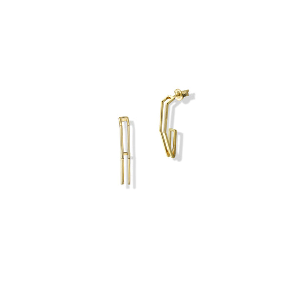 THE GEOMETRIC DROP EARRING